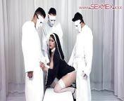 Hot Latina Alexandra Paris baptized into the cult of sexmex from sexmex
