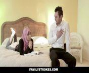 FamilyStrokes - Pakistani Wife Rides Cock In Hijab.mp4 from www pakistan sindhi hot sexi girls full xxxn vedios com মল্