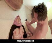 FamilyStrokes - Pakistani Wife Rides Cock In Hijab.mp4 from pakistan gunship