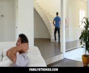 FamilyStrokes - Sexy Housewife Fucks Stepson from saxanas