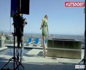 LETSDOEIT - Hot Horny Couple Fucks Hard In Their New Penthouse from new bangla xxx video nika xxx video
