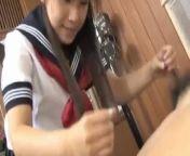 Momo Aizawa in uniform sucks and rubs dicks and has c - More at hotajp com from jane 123xxx vidoe com c
